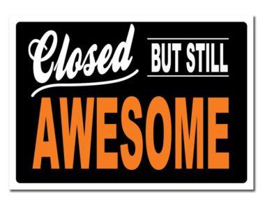 Holliday Closures